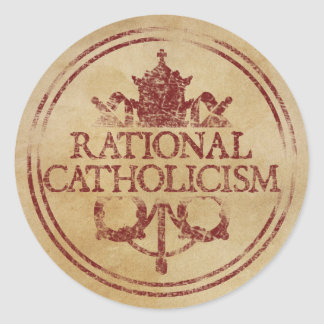 Rational Catholicism Stickers