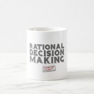 Rational Decision Making - Closed For Lunch Basic White Mug