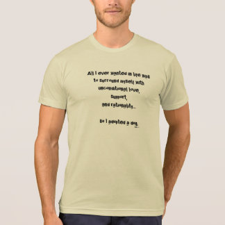 Rational Dog T-Shirt