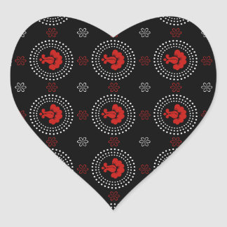 Rational Passionate Up Gorgeous Heart Sticker