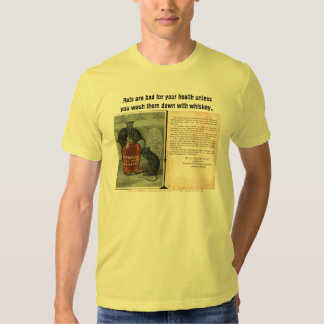 Rats are bad for your health-unless.. tees
