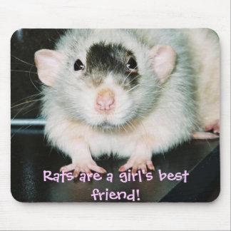 Rats best friend! mouse mat