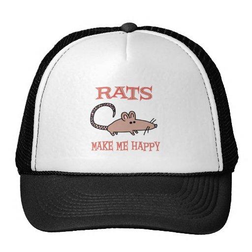 Rats Make Me Happy Cap