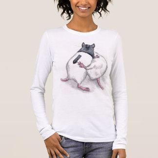 rats playing T shirt