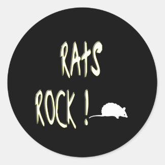Rats Rock! Sticker