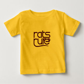 Rats Rule! Baby T-Shirt