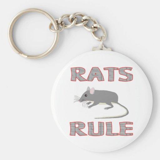 RATS RULE KEYCHAIN