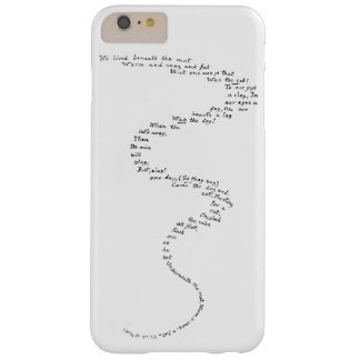 Rat's Tale Case Barely There iPhone 6 Plus Case