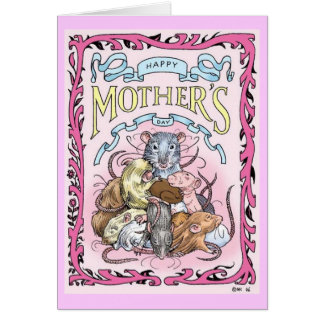 Rattie Mom Mother's Day card