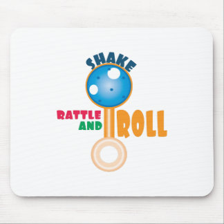Rattle and Roll Mouse Pad