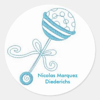 rattle Nicolas Marquez Diederichs Sticker