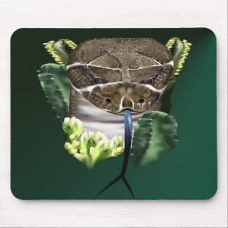 Rattle Snake Face Mousepad