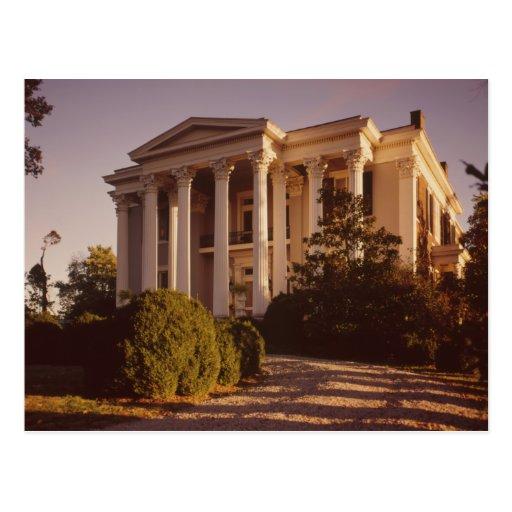 Rattle & Snap Plantation Columbia TN Postcard