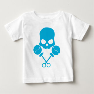 Rattler Skull - In death defying blue! Baby T-Shirt