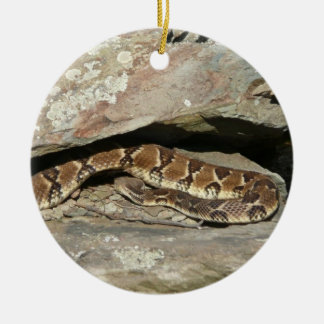 Rattlesnake at Shenandoah National Park Christmas Ornament