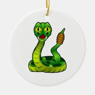 Rattlesnake Christmas Ornament