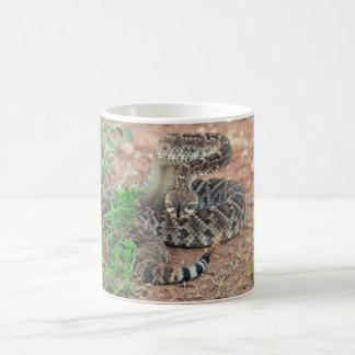 Rattlesnake Basic White Mug