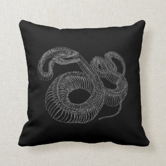 Rattlesnake Skeleton Cushion