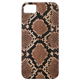 Rattlesnake Snake Skin Leather Faux iPhone 5 Cover
