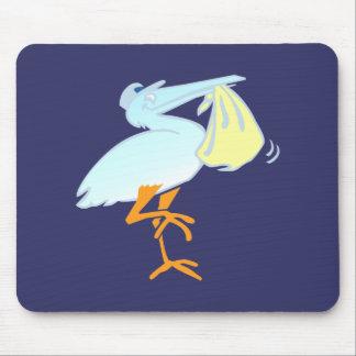 Rattling stork stork stork mouse pad
