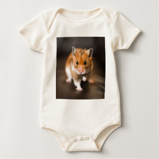 Ratty the hamster baby bodysuit