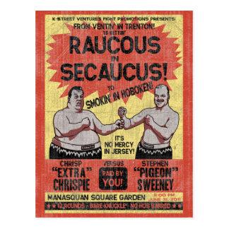 Raucus in Secaucus Post Cards