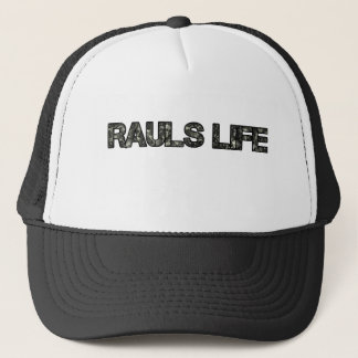 Rauls Life trucker What! Trucker Hat