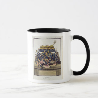 Ravana, demon king of Ceylon, from 'Voyage aux Ind Mug