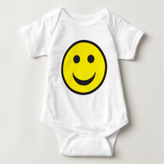 Rave Acid House Smiley Baby Bodysuit