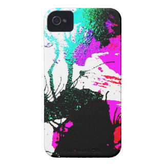 Rave neon party abstract iPhone 4 Case-Mate case