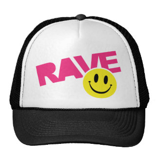 Rave Smiley Hats