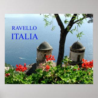 ravello italia poster