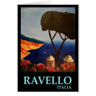 Ravello Salerno Italy View of Amalfi Coast Greeting Card