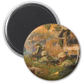 Raven 42 by James Dietz 6 Cm Round Magnet