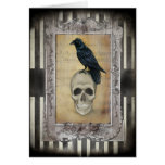 Raven and Skull Cards