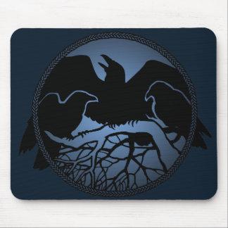 Raven Art Mouspads Cool Crow Art Computer Gifts Mouse Mat