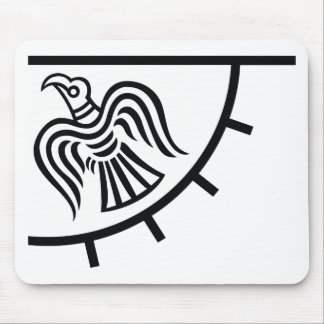 Raven Banner (Viking Flag) Mouse Mat