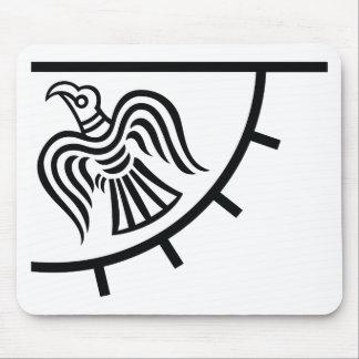 Raven Banner (Viking Flag) Mouse Pad