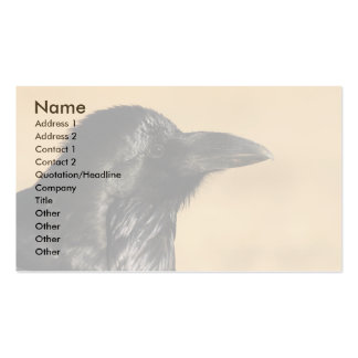 raven Double-Sided standard business cards (Pack of 100)