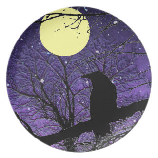 Raven by Alexandra Cook aka Linandara Dinner Plates