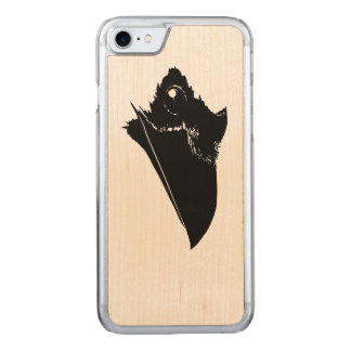 Raven Carved iPhone 7 Case