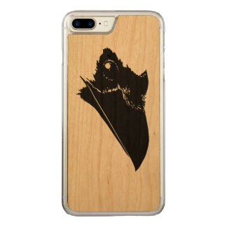 Raven Carved iPhone 8 Plus/7 Plus Case