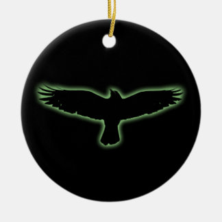 Raven Christmas Ornament