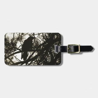 Raven Crow Steampunk Luggage Tag