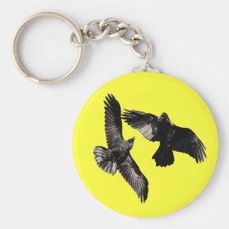 Raven Dance Key Ring