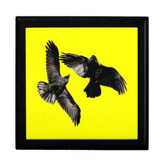 Raven Dance Large Square Gift Box