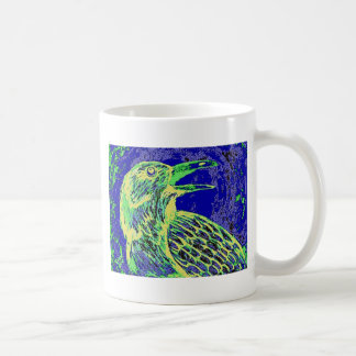 raven day glow coffee mug