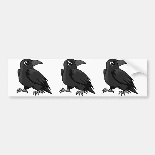 Raven Design Bumper Sticker