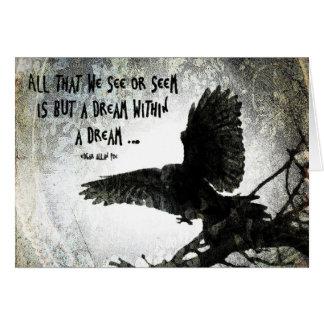 Raven Dream Greeting Card