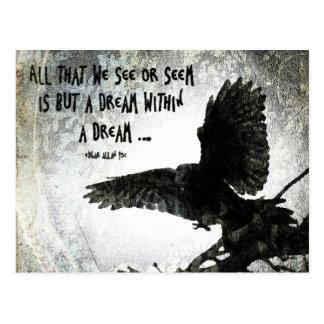 Raven Dream Postcard